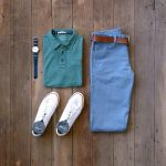 Vintage colors and classic chinos