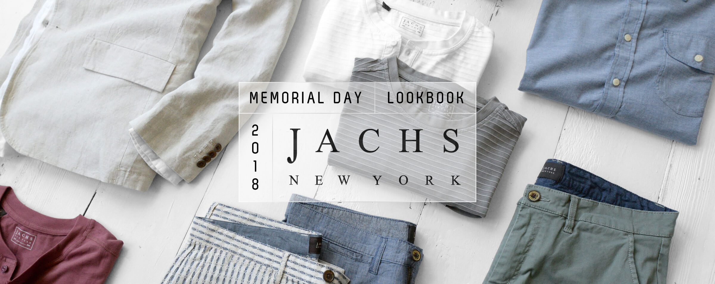 JachsNY Memorial Day Lookbook