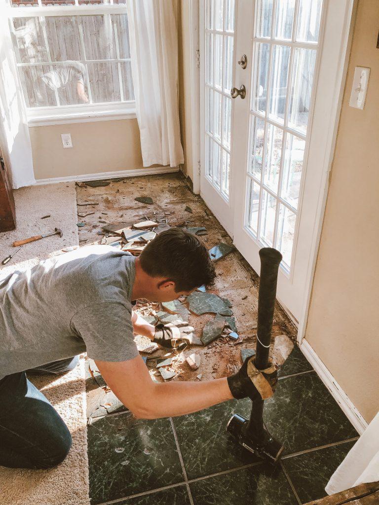 Sledging Tile